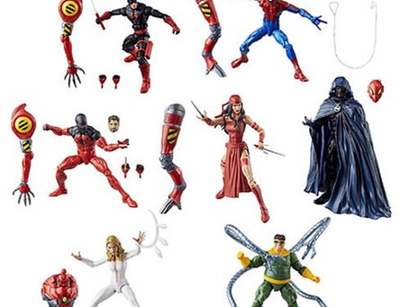 Amazing Spider-Man Marvel Legends Series Action Figures Wave 10 SP.Dr BAF