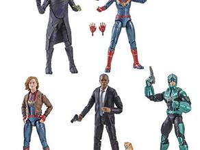 Captain Marvel Marvel Legends 6-Inch Action Figures Wave 1