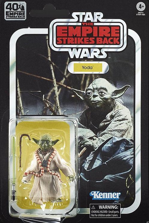 "Star Wars 6"" Black Series Empire Stikes Back 40th Anniversary Yoda"