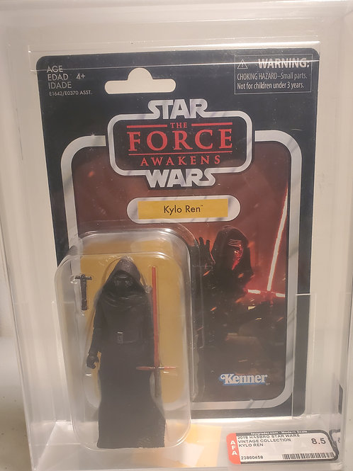 2018 Star Wars Vintage Collection VC117 Kylo Ren 8.5 AFA Graded