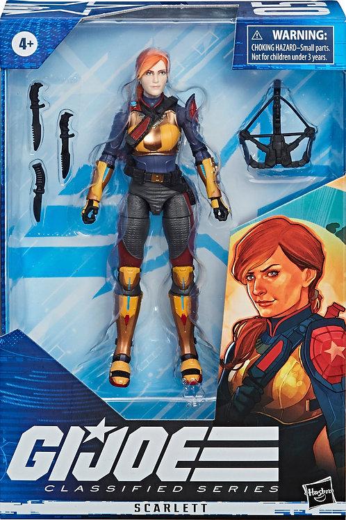 G.I. JOE Classified Series Scarlett Action Figure