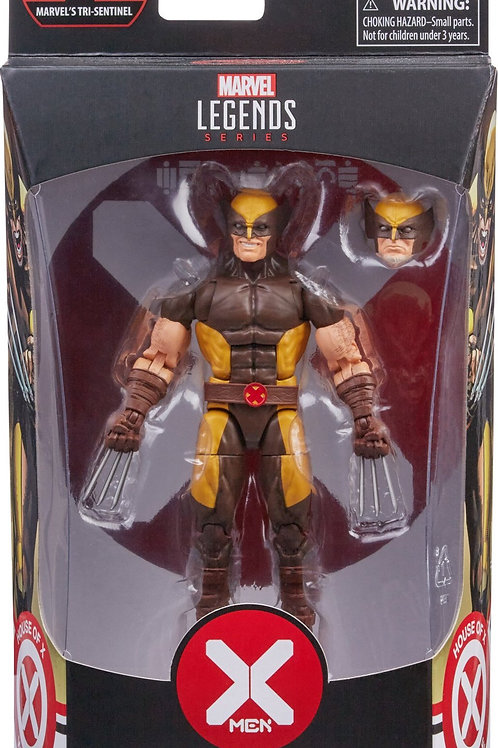 Marvel legends X-Men:  Wolverine House of X BAF series Tri Sentine