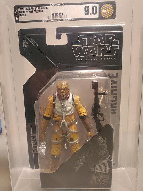2019 Star Wars Black Series Archive Bossk AFA Graded