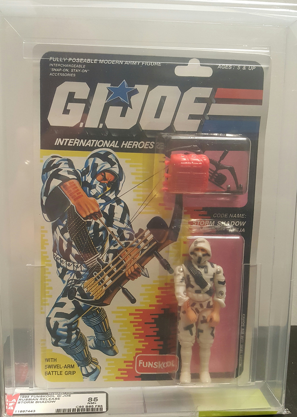 Mint Gi Joes and AFA Graded Figures http://www.valleygoto.com