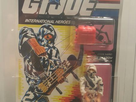 1992 Funskool Russian Release GI JOE Storm Shadow