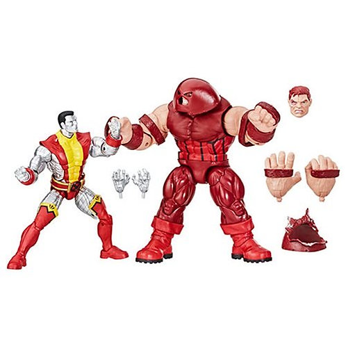 Marvel Legends 80th Anniversary Colossus and Juggernaut 6-Inch Action Figures