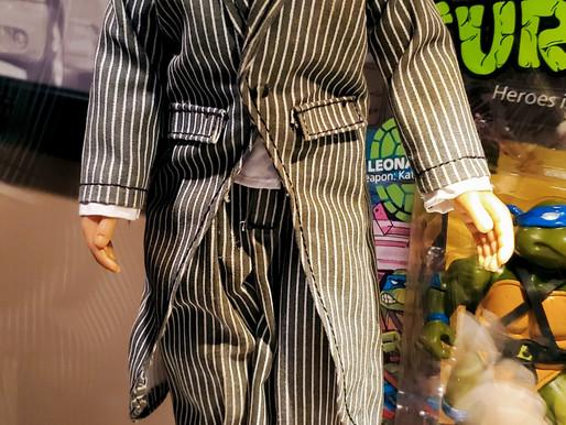 Mattel Mego Mask Zoot Suit Prototype Action Figure