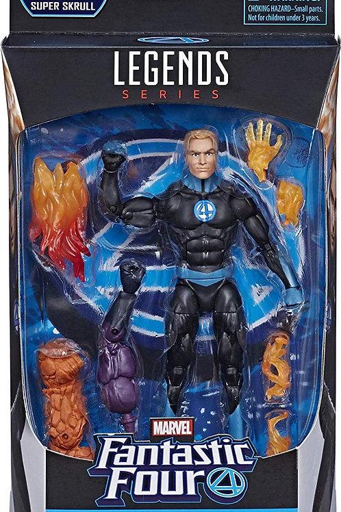 """Fantastic Four Marvel Legends Human Torch  """"Super Skrull """"BAF"""