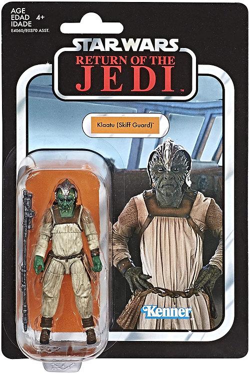 Star Wars The Vintage Collection VC135  3 3/4 Klaatu (Skiff Gaurd) Action