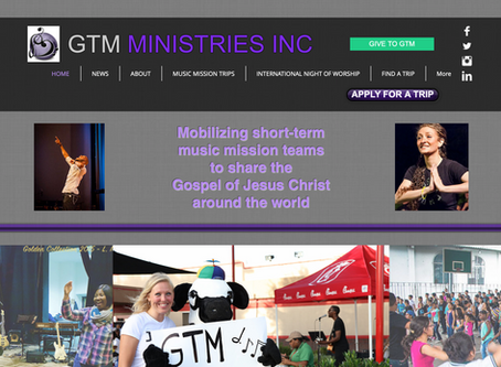 GTM ministries rebrand kicks off with a new website