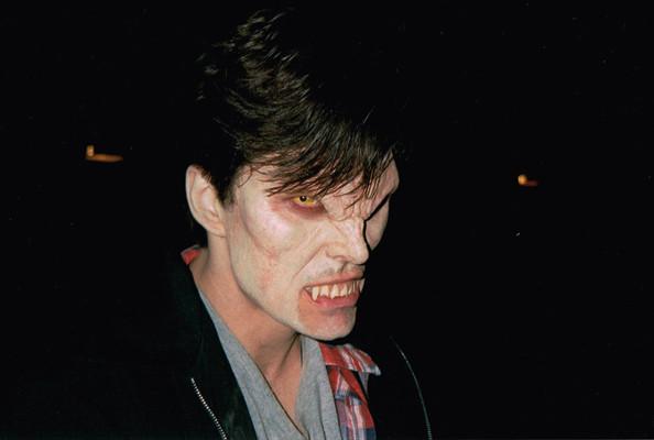 Pruitt in Vamp Makeup