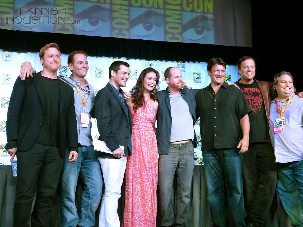 Minear with Firefly Cast