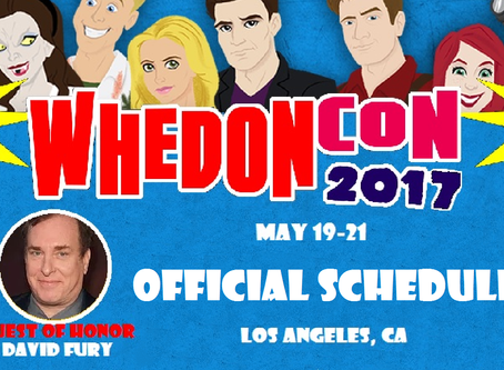 WhedonCon Schedule Goes Live!