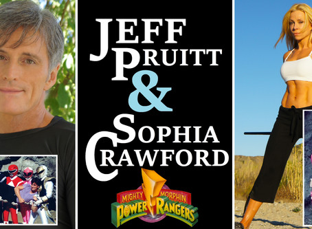 MMPR's Jeff Pruitt and Sophia Crawford