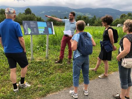 22.06.2021: Ackerführung auf dem Ernährungsfeld Vaduz