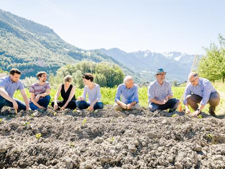 15.06.2021: Eröffnung Ernährungsfeld Vaduz