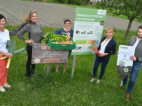 10.05.2021: Ernährungsfeld Vaduz: Saisonkalender Gemüse präsentiert