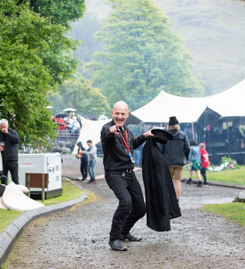Dave at Mhor Festival