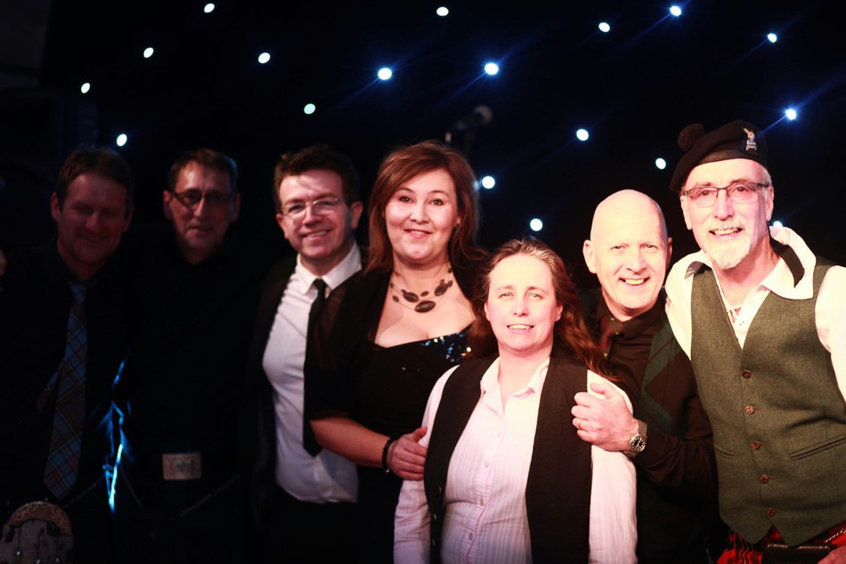 Ceilidhdonia at Aberdeen with Iza & Tam