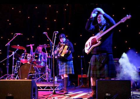 Ceilidhdonia Edinburgh Hogmanny Street Party