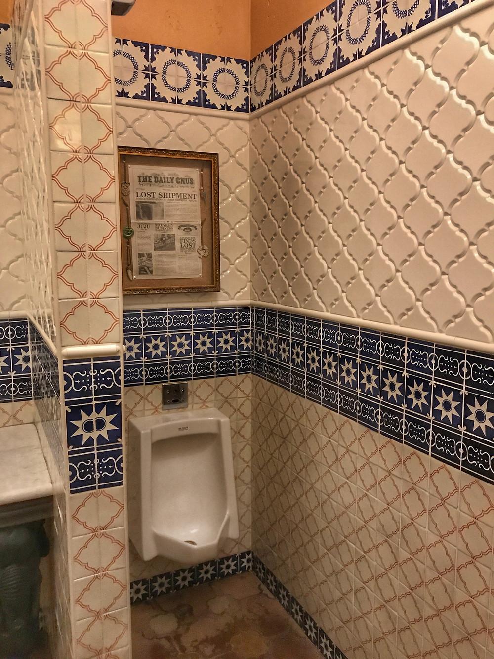 Urinal, Skipper Canteen Men's Bathroom