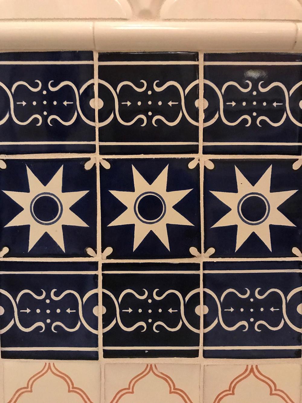 Wall Tile, Skipper Canteen Loo