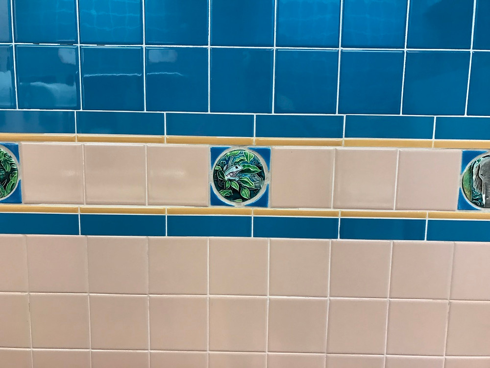 Wall Tile, Conservation Station Restroom