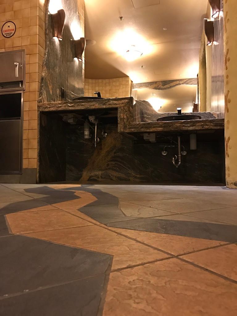 Floor Tile, Sanaa Restroom
