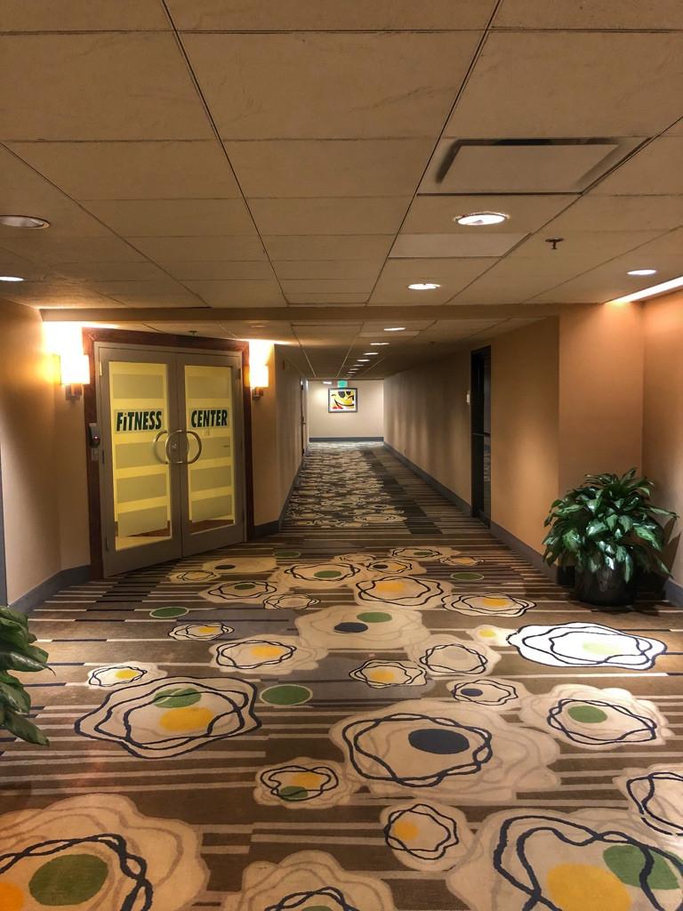 Third Floor Hallway, Contemporary Resort