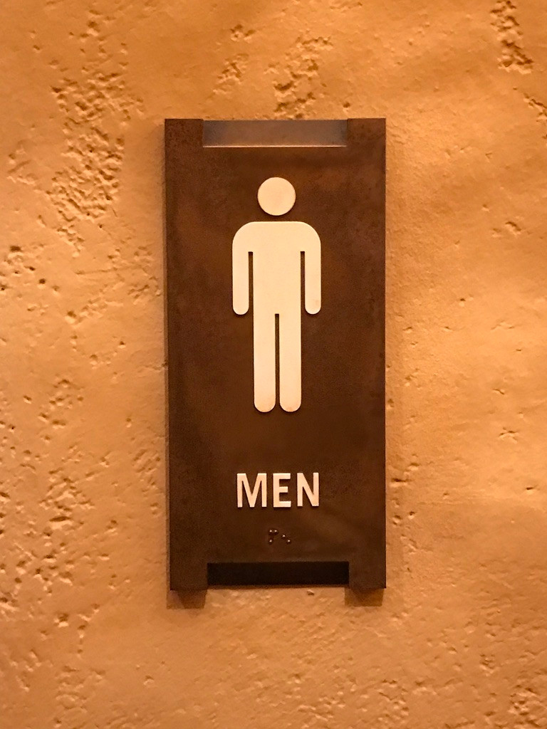 Men's Room Sign, Tiffins, Animal Kingdom