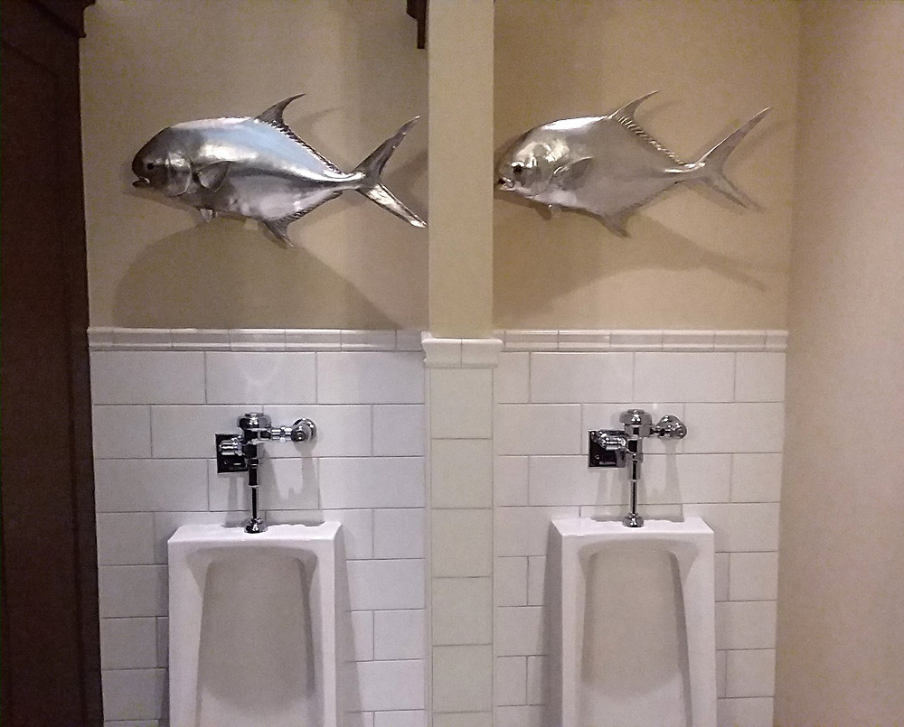 Urinal Walleye, The Boathouse, Disney Springs