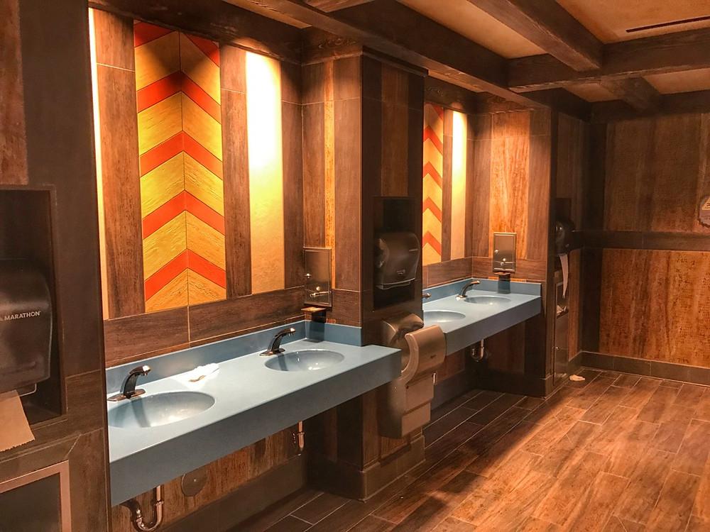 Sink Station, Norway Restroom, Epcot