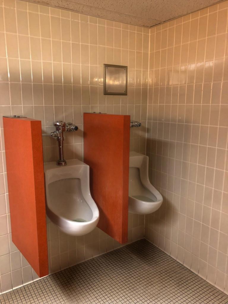 Urinals, Third Floor Restroom, The Contemporary Resort