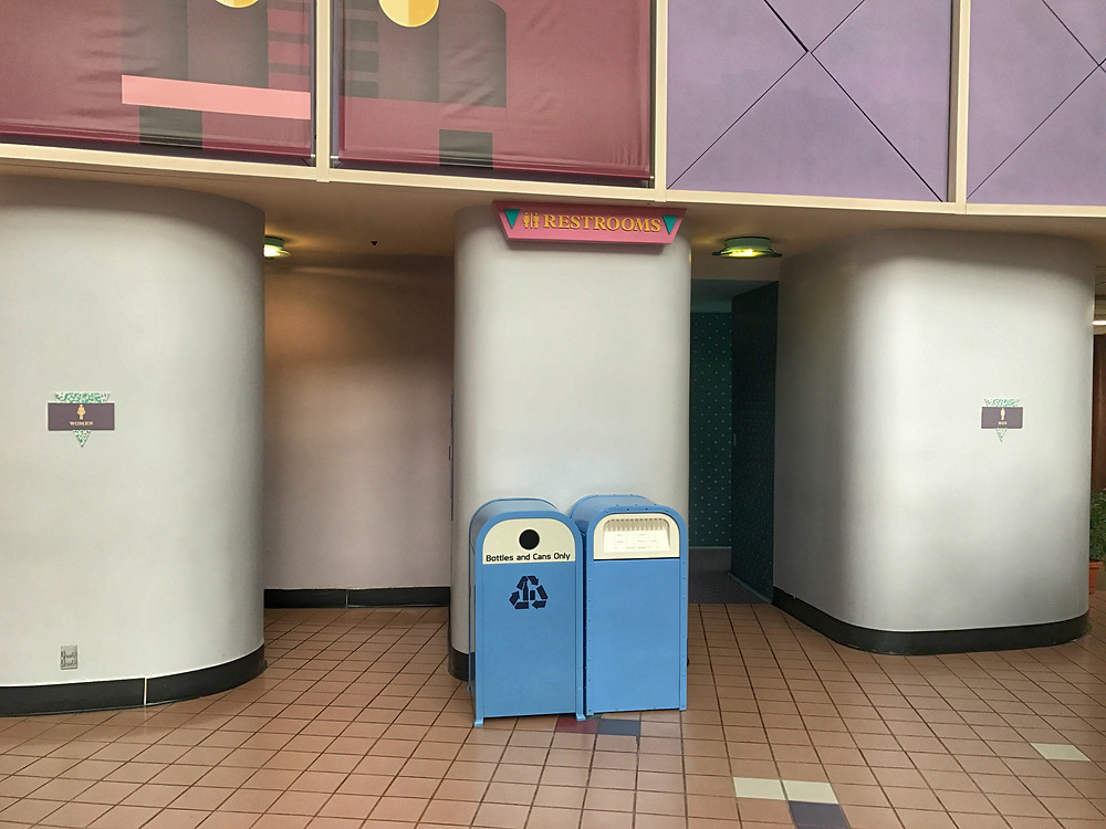 Entrance to the Wonders of Life Pavilion Loos