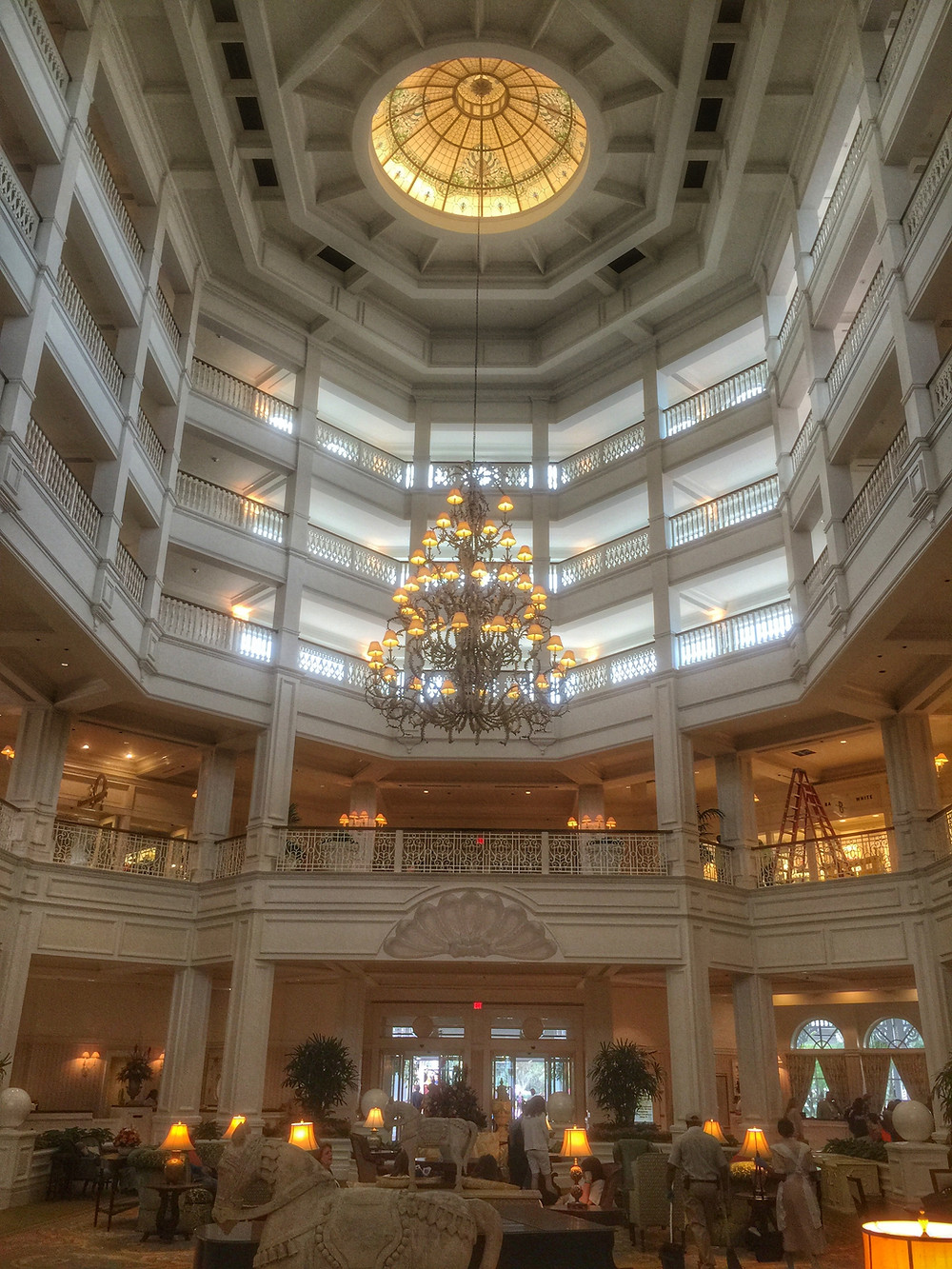 Atrium Lobby Grand Floridian Resort Walt Disney World