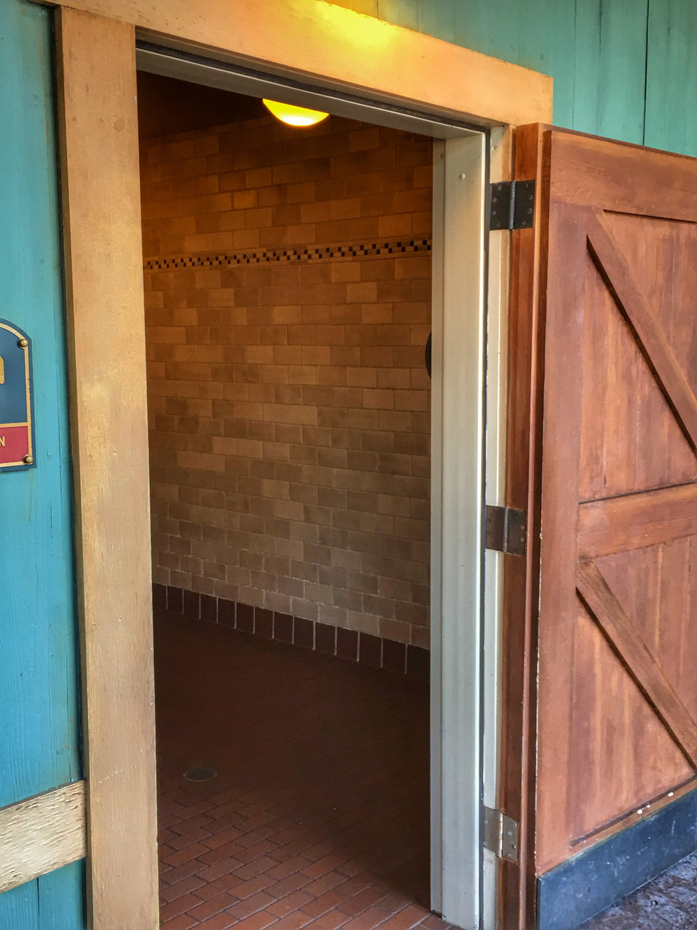 Entrance to Men's Room, Storybook Circus, Magic Kingdom