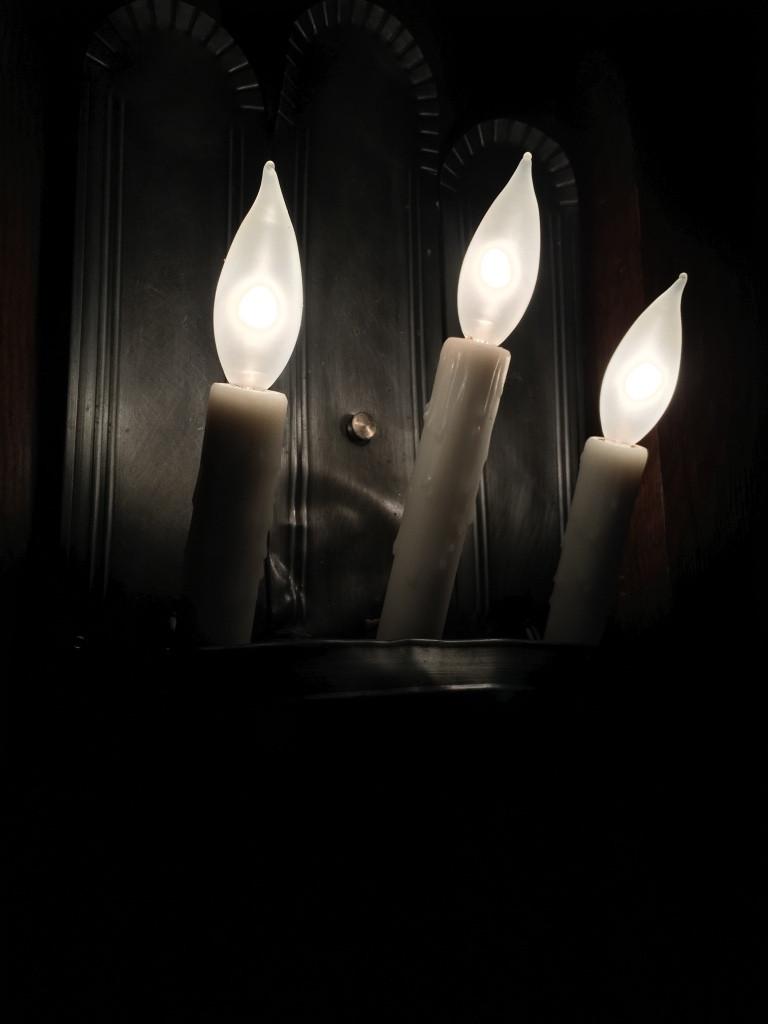 Candles at Liberty Tree Tavern