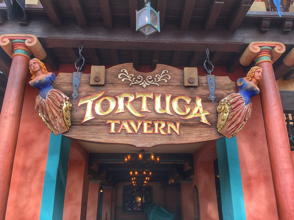 Tortura Tavern Main Entrance Sign