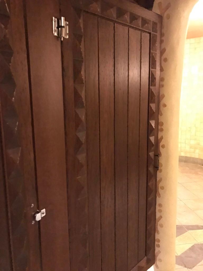 Stall Door, Sanaa Restroom