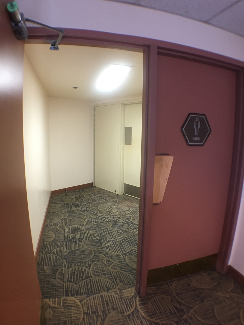 Entrance to Men's Restroom Odyssey Center Epcot