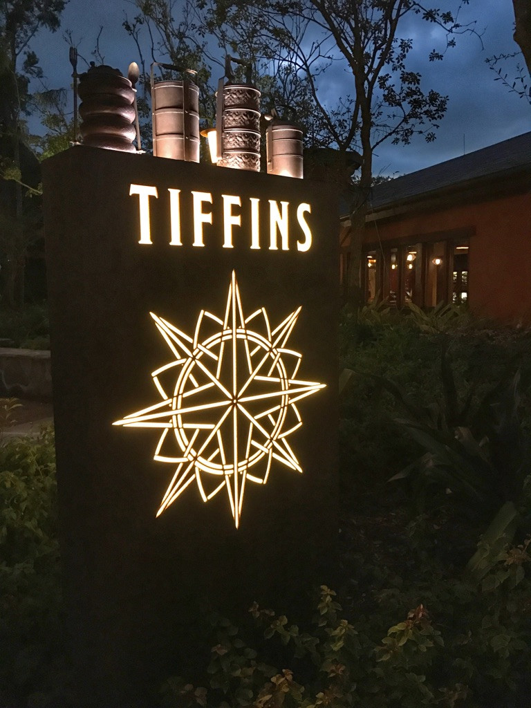 Sign for Tiffins, Animal Kingdom