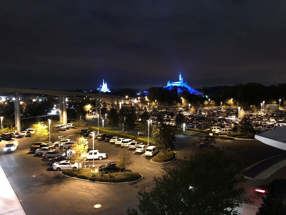 View of Magic Kingdom from The Contemporay