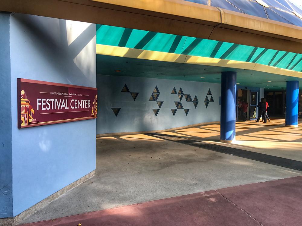 Entrance to Wonders of Life Pavilion