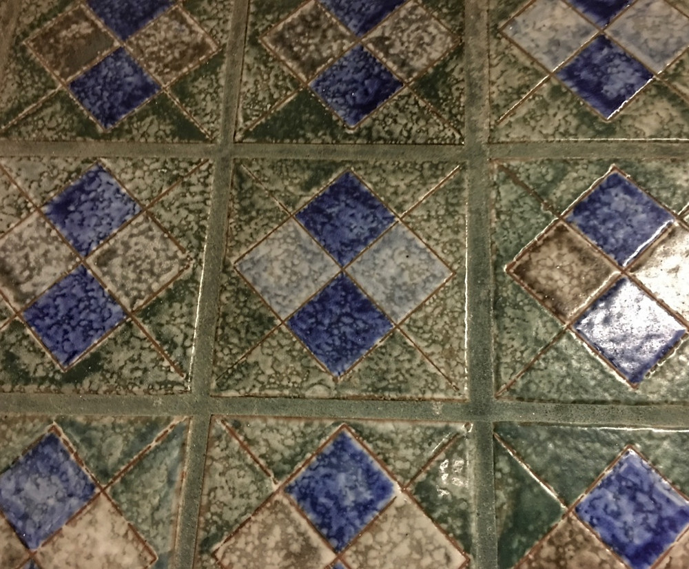 Decorative Tile Strip Tortuga Tavern