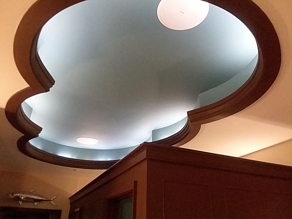 Cool Ceiling, The Boathouse Restroom, Disney Springs