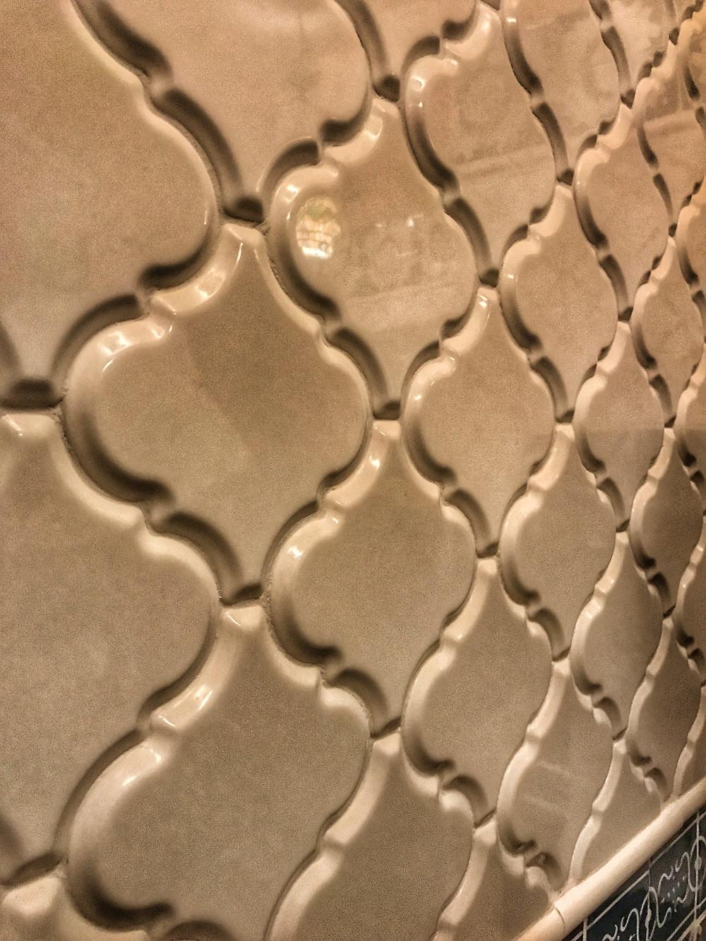 Arabesque Lantern Tile, Skipper Canteen Restroom