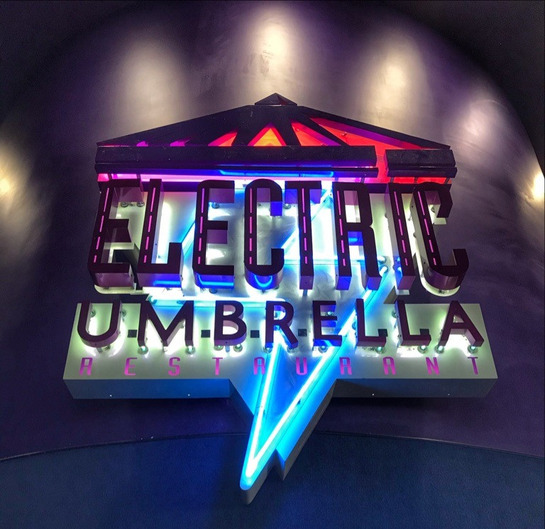 Signage at Electric Umbrella
