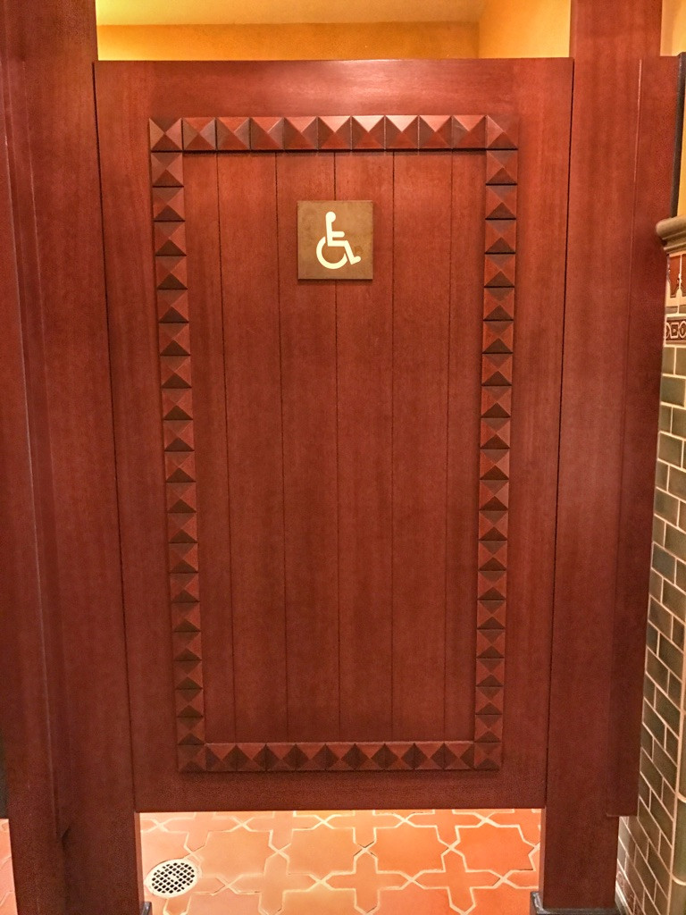 Stall Door, Tiffins Restroom, Animal Kingdom
