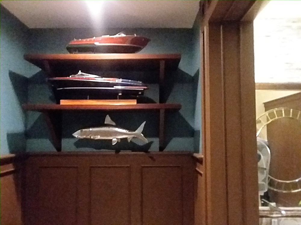 Boats and Fish, Boathouse, Men's  Restroom