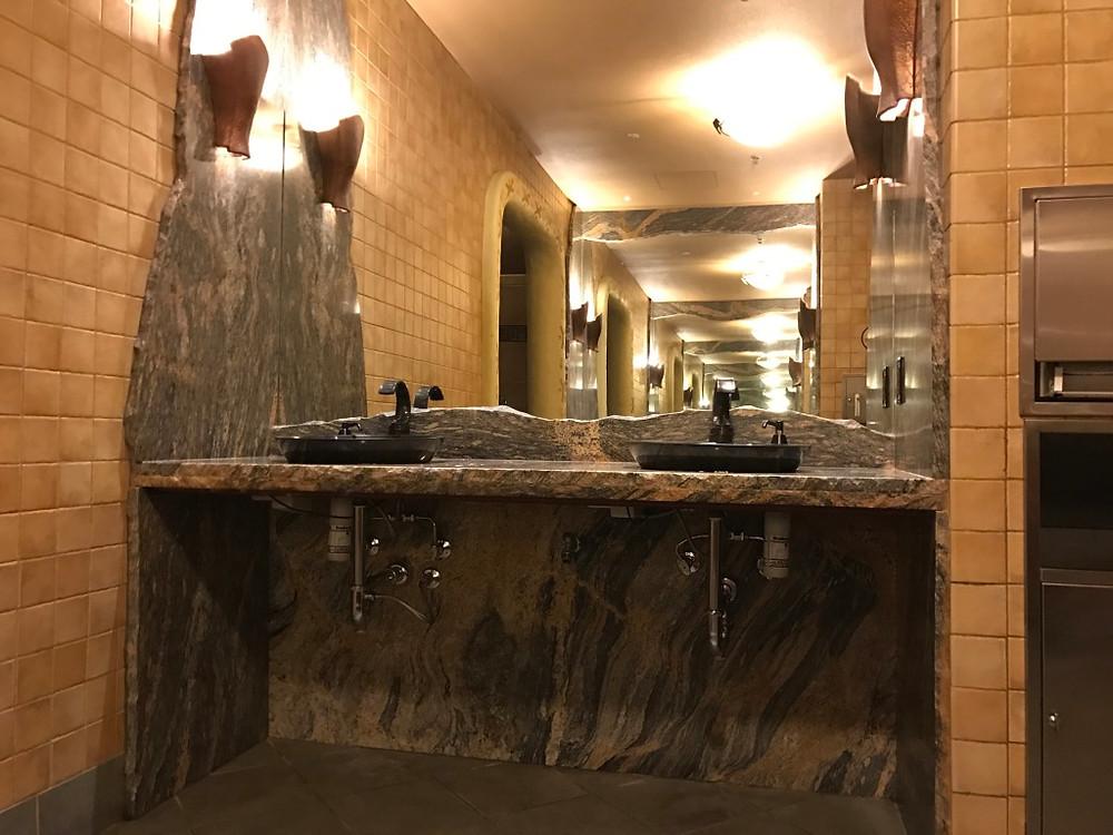 Infinity Mirrors, Sanaa Restroom